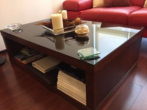 Mesas estilo contemporáneo para sala en Madera y Vidrio