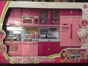 Mini cocina de niña