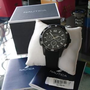 reloj nautica nuevo, para caballero.