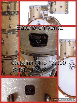Bateria Gretsch, catalina club (instrumentos musicales)