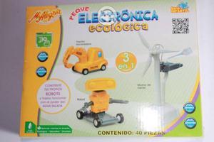 Juego De Electrónica Ecológica 3 En 1, Mi Alegria