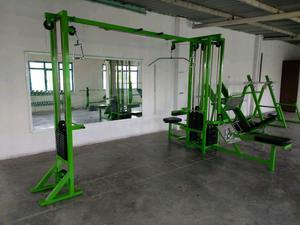 Jaula Jungla 4 Estaciones Cracken Gym Gimnasio
