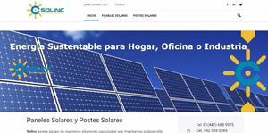 Paneles solares y postes solares, ahorro de 95% de