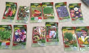 Paquete de semillas variadas