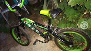 Bicicleta ben 10 rod 16