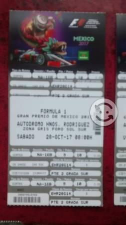 Boletos formula 1