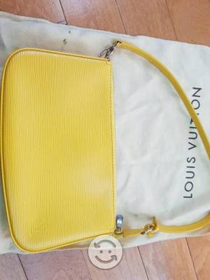 Bolsa Louis Vuitton Pochette de piel ORIGINAL usad