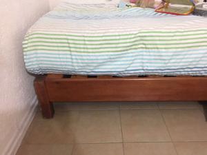 Cunas individual madera de pino posot class for Cama individual precio