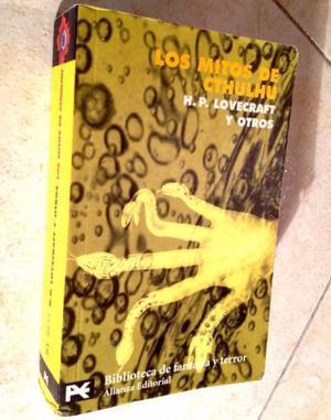 H. P. Lovecraft Los mitos de Cthulhu (Alianza Editorial)