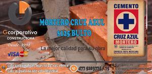 MORTERO CRUZ AZUL