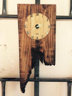 Relojes acabado rustico