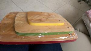 set de 3 tablas de madera para picar
