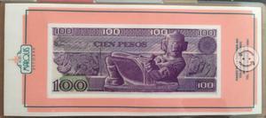 Billete de 100 pesos