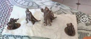 Figuras metálicas de colección de Star Wars