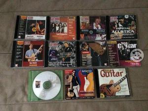 Lote de CDs de la revista Guitarra Total