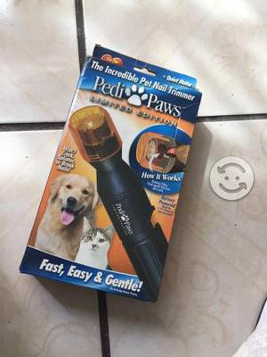 Pedí paws cortadora de uñas para mascotas,