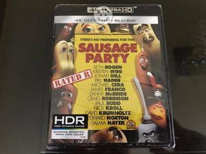 Sausage Party La Fiesta De Las Salchichas 4k HDR