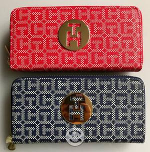 CARTERAS TOMMY HILFIGER RED AND BLUE nuevas