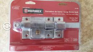 Cerradura de barra hermex