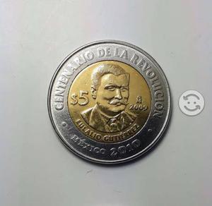 Eulalio Gutiérrez Centenario Moneda Conmemorativa