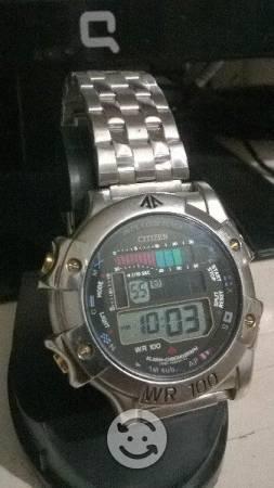 Reloj Citizen Cronografico WR100 AGUA