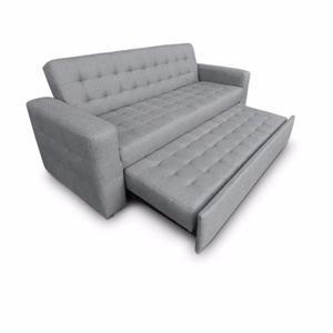 Sofa cama libano mobydec muebles sillon salas posot class for Sofa individual precio