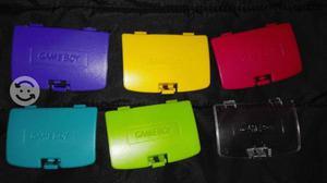Tapas para gameboy 6 colores genericas nuevas