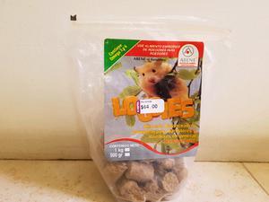 Accesorios y alimento para hamster
