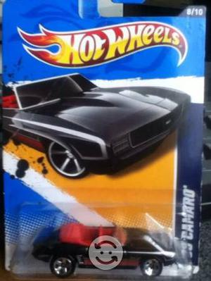 Hot wheels 69 camaro escala 1:64 y pipa