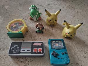 lote de figuras de Nintendo