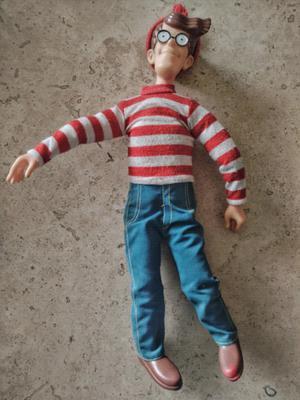 muñeco de donde esta wally por mattel