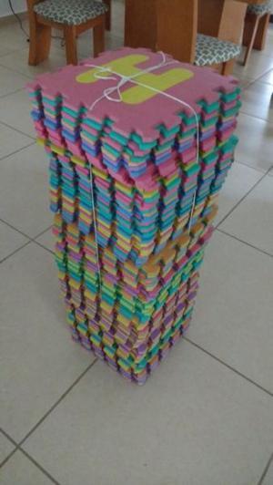 95 piezas de tapete de fomi