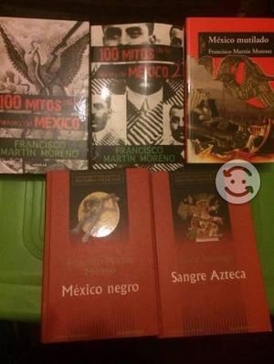 Colección 5 libros Francisco Martín Moreno