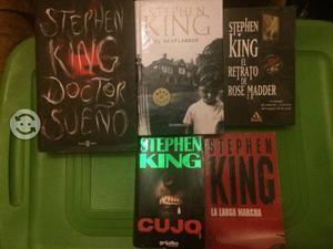 Colección 5 libros Stephen King