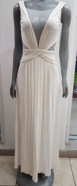 Elegante Vestido Largo BCBG – Color Blanco