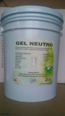 Gel conductor neutro base agua