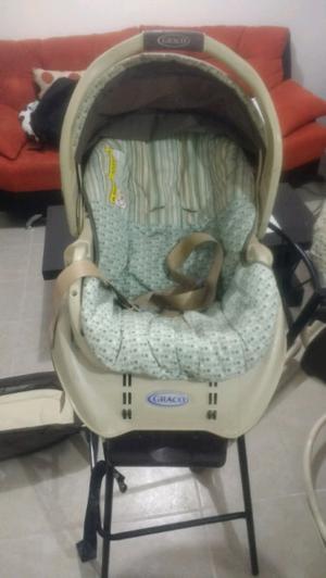 Kit completo para bebé, incluye silla para auto, corral y
