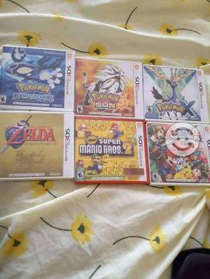 Lote de juegos para Nintendo 3DS