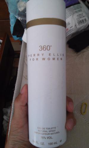 Perfume Perry Ellis 360 de mujer Original