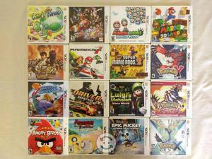 Varios juegos de Nintendo 3DS