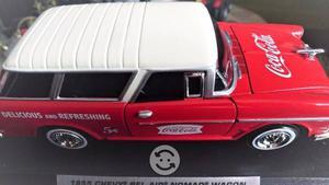 chevy bel air normad wagon cocacola esc 1 24