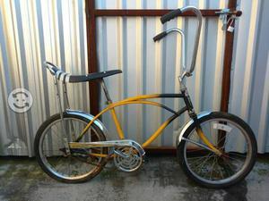 Bicicleta amarilla americana 20
