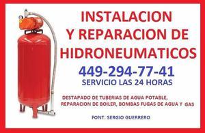 HIDRONEUMATICOS REPARACION DE HIDRONEUMATICOS