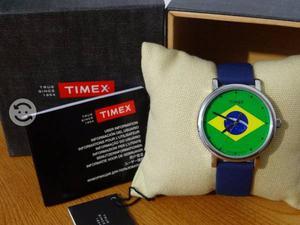 Reloj timex unisex,edicion especial brasil,nuevo,c