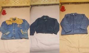 Paquete de 15 chamarras y chaquetas