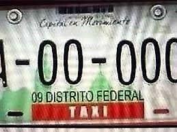 RENTA PLACAS DE TAXI CDMX