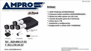 Seguridad Electrónica, Control de Acceso, CCTV, Detección