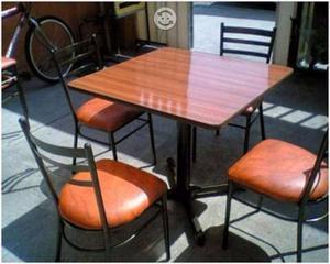 Sillas y Mesas para Cafetería Restaurante o Bar