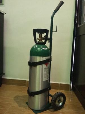 Tanque De Oxigeno De  Lts. INFRA Médica
