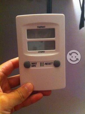 Termómetro e higrómetro digital TFA. *NUEVO